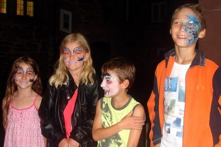 Vampire und Fledermäuse bei der Bat Night in Schlüchtern (Foto Sibylle Winkel)